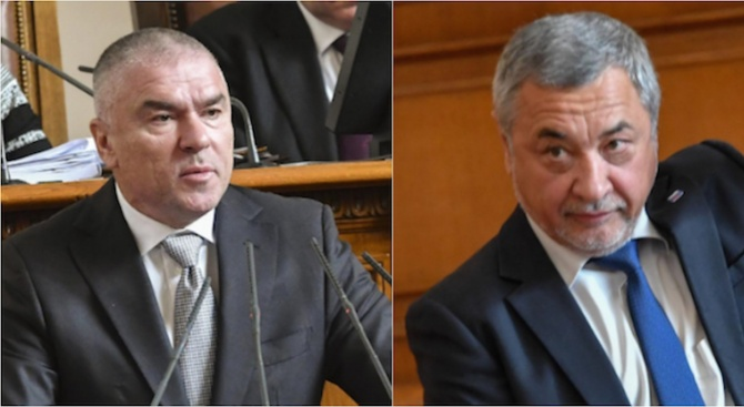 Марешки и Симеонов се захапаха в парламента