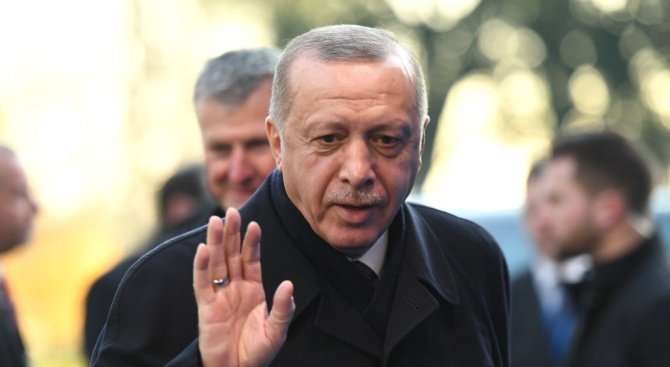 Ердоган откри екологична джамия в Кеймбридж