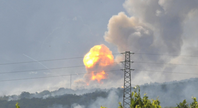 Експлозия в цех за производство на биогаз, има пострадали