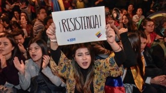 Нови протести в Колумбия срещу президента Иван Дуке