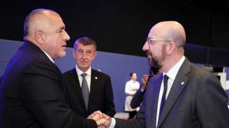 Борисов поздрави новия председател на Европейския съвет и го покани у нас