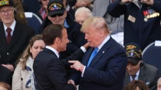 Американският президент скочи на френския си колега