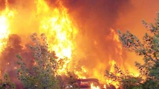 Колеж пламна в Одеса. Има ранени