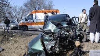 Меле на пътя Ямбол - Безмер: Един загина, друг е ранен