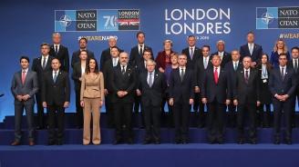 Лидерите на НАТО приеха заключителна декларация на срещата на върха