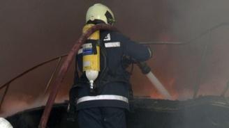 Пожар горя в пловдивска болница