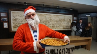 Росен Марков занесе баница с късмети на общинарите във Варна