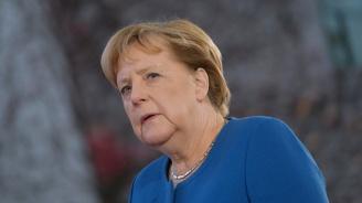 Ангела Меркел влиза в Аушвиц