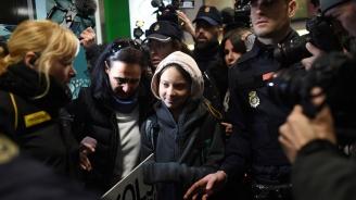 Грета Тунберг пристигна в Мадрид
