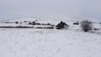 "Военнослужещи от Бригадното командване проведоха батальонно тактическо учение ""Вратица 2019"""