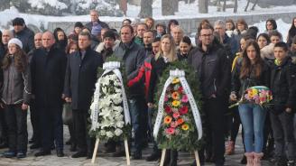 Банско сведе глава в почит пред любимия си син - поета Никола Вапцаров