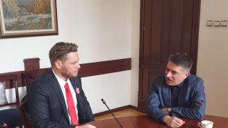 Данаил Кирилов и Полфрийман обсъдиха проблемите в затворите