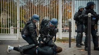 ЕК се въздържа да порицае Франция за употреба на прекомерна сила срещу демонстрантите