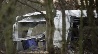 Автобус катастрофира на път за сръбски ски курорт, 26 са ранени