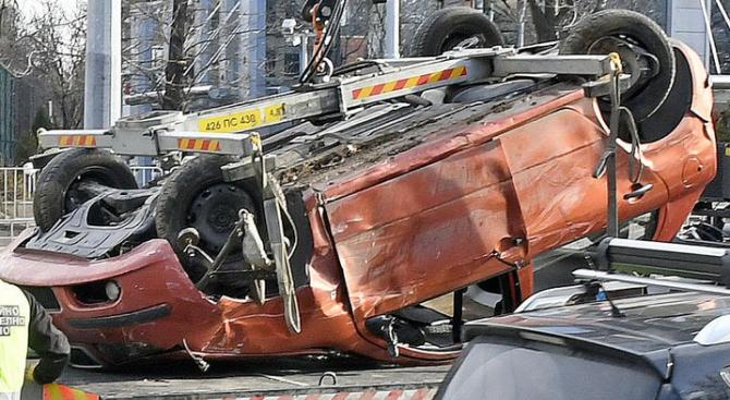 14 души са ранени при катастрофи през изминалото денонощие