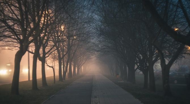НИМХ: Жълт код за мъгла е в сила за 5 области на страната