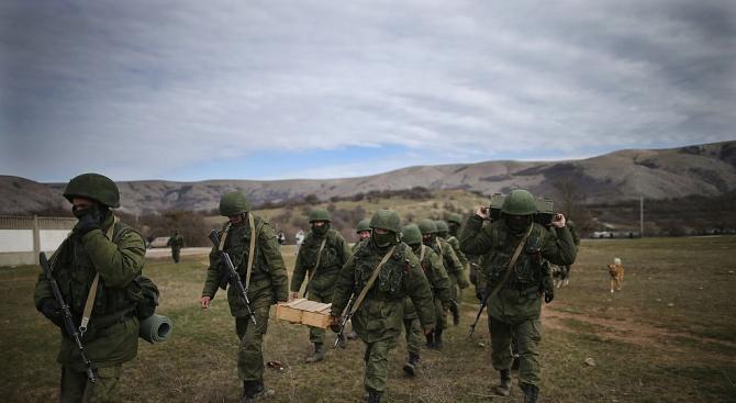 Руски военни влязоха в ексстолица на ИД