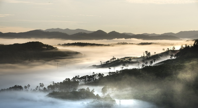 Мъгла в низините и котловините