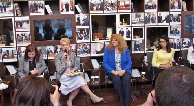 Йотова: Младите момичета в България имат цели и амбиции