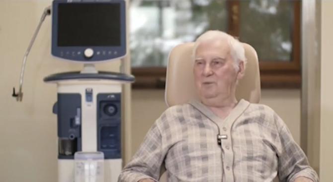 Първият човек с трансплантиран бял дроб в България разказа за операцията