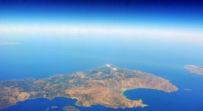 Земетресение с магнитуд 5,4 край остров Крит