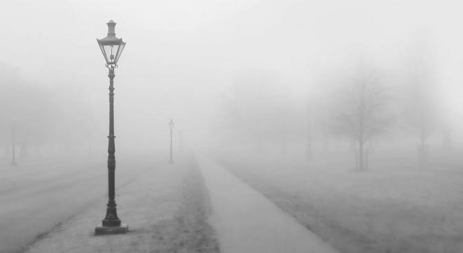 Жълт код за гъста мъгла в 15 области на страната