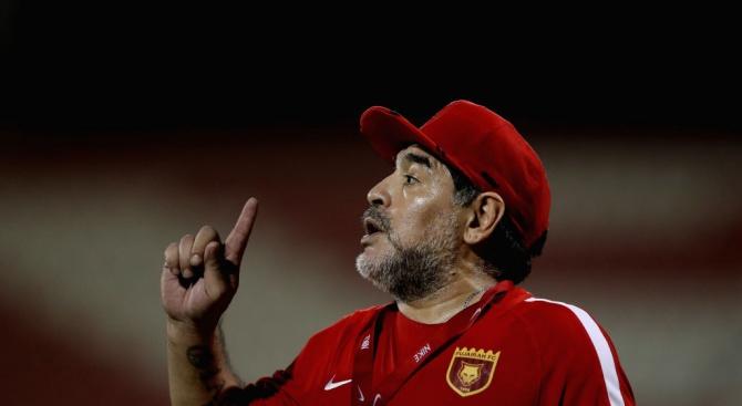 """Марадона осъди """"Долче и Габана"""""""