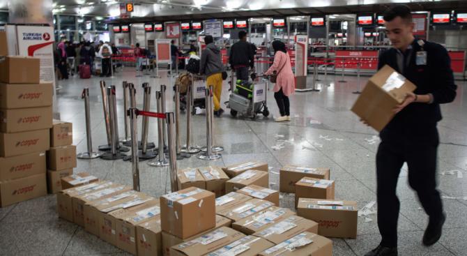 На летището в Истанбул спипаха рекордните 1.7 тона дрога