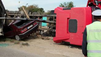 Катастрофа в Кресненското дефиле: Един е ранен