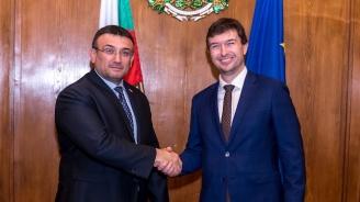 Министър Младен Маринов се срещна с посланик Лукаш Кауцки