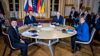 """Завърши срещата на лидерите от """"нормандската четворка"""""""