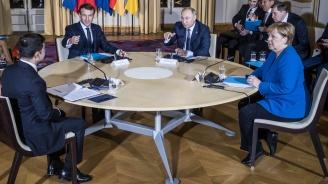 Украинският президент последва съвет на руския и френския си колеги