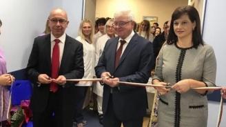 Инвестират близо 1, 4 млн. лв. за реконструкция в Клиниката по медицинска онкология към УСБАЛО
