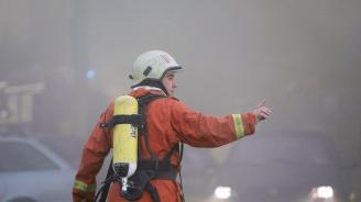 Пожар горя в цех за преработка на отпадъчна пластмаса в Ракитово