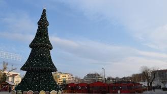 Събират дарения за деца в риск под елхата в Бургас