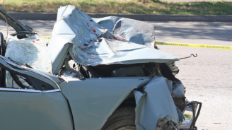 Двама са ранени при катстрофа край Варна