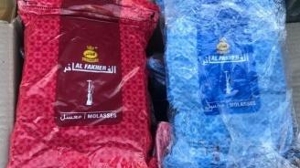 Митничари спипаха 100 кг тютюн за наргиле и над 600 кг хладилен газ