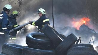 Годишно в България се изгарят около 200 хил. тона облекла и гуми и стотици хиляди литри масла