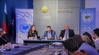 Георг Георгиев поздрави младежките делегати за участието им в Общото събрание на ООН