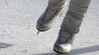 Ледената пързалка в Хасково отвори врати