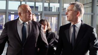 Борисов към Столтенберг: Изпълняваме ангажимента за повишаване на инвестициите в отбраната