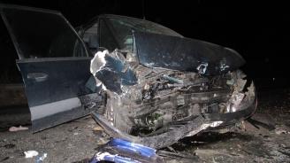 Тежка катастрофа на пътя Пловдив - Хасково, има ранени