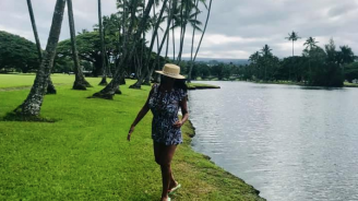 Анита Мейзер разпуска на Карибите