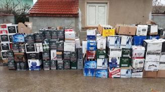 Разкриха огромно количество нелегален алкохол при спецакция в Червен бряг и Девинци
