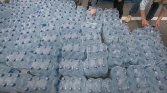 Община Перник раздаде вода на детските градини