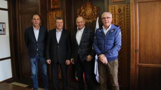 Марк Жирардели гостува в Община Банско