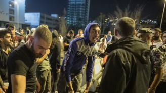Десетки пострадали при сблъсъци между полицията и демонстранти в Бейрут