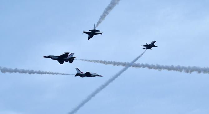 Турция планира да изпрати при нужда и изтребители Ф-16 в Северен Кипър