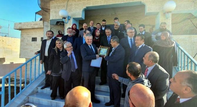 Румен Петков връчи на кмета на йорданския град Зарка послание от кмета на Плевен за побратимяване на двата града