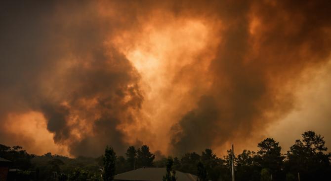 Димът от пожарите в Австралия достигна Бразилия